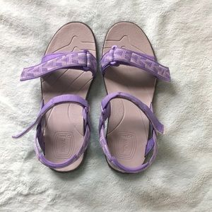 Teva Sandals Sz 8 Purple/Gray
